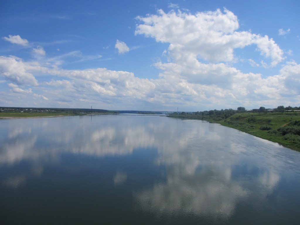 View from the Trans-Siberian train