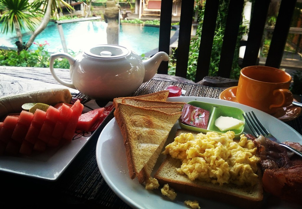 Breakfast at DaFish on Nusa Ceningan