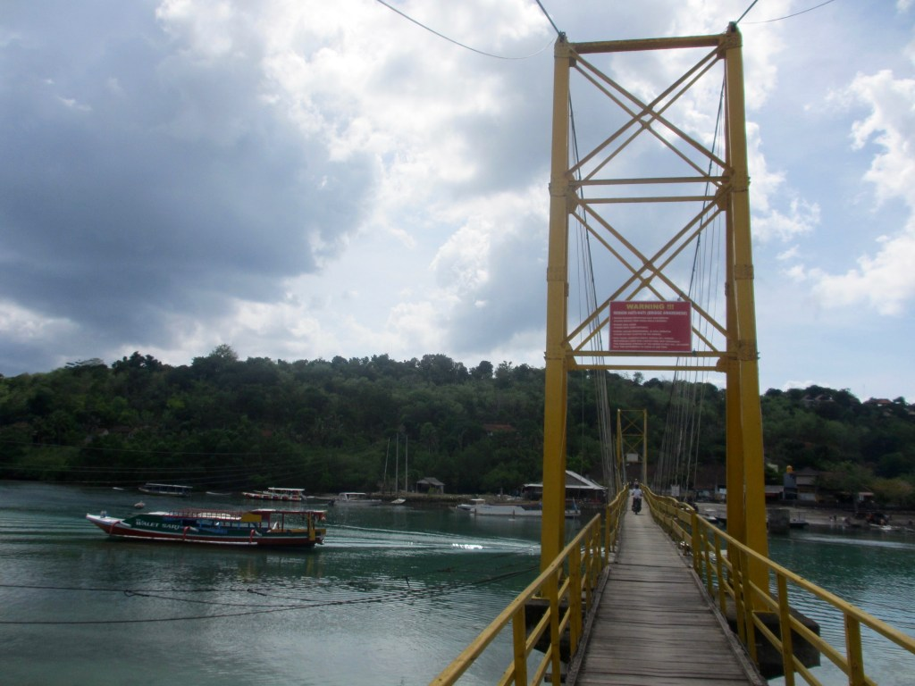 Yellow Bridge to Nusa Ceningan
