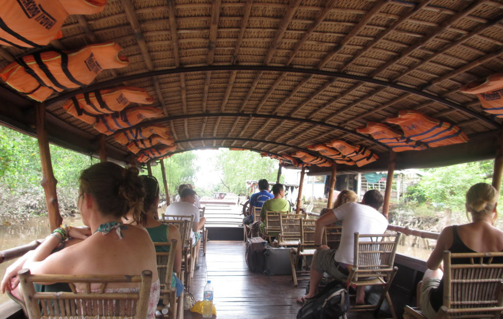 More than tuk tuks - why not a riverboat along the Mekong?