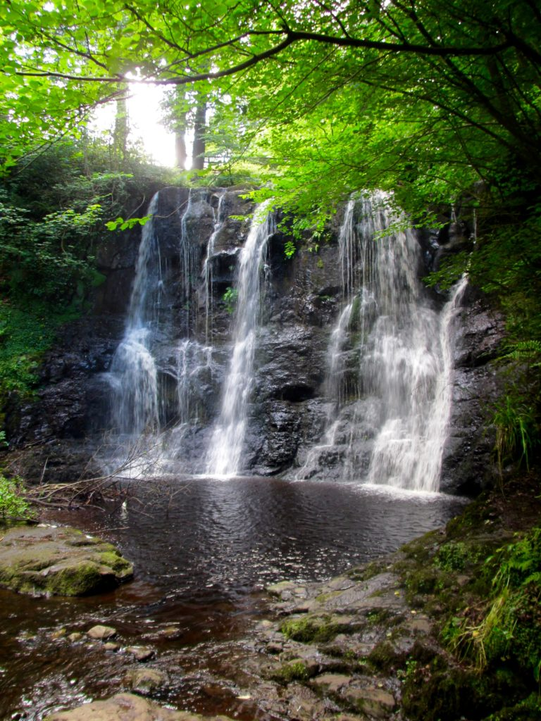 Glenariff Forest Waterfall