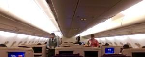 MAS Business Class Cabin