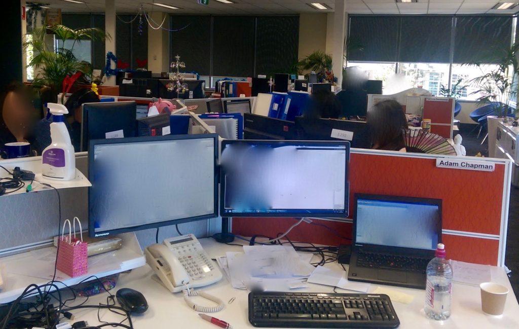 My Old Desk