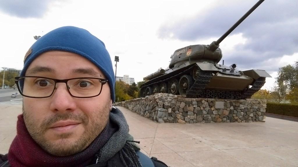 Mr Adam in Tiraspol, Transnistria