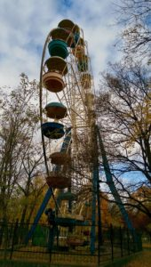 Old Ferris Wheel in Tiraspol, Transnistria