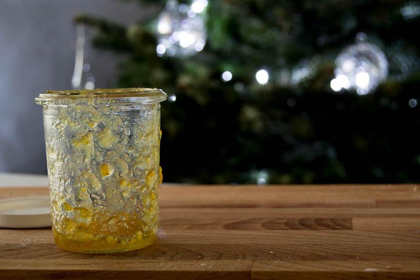 Tronco Navidad sin gluten y sin lactosa