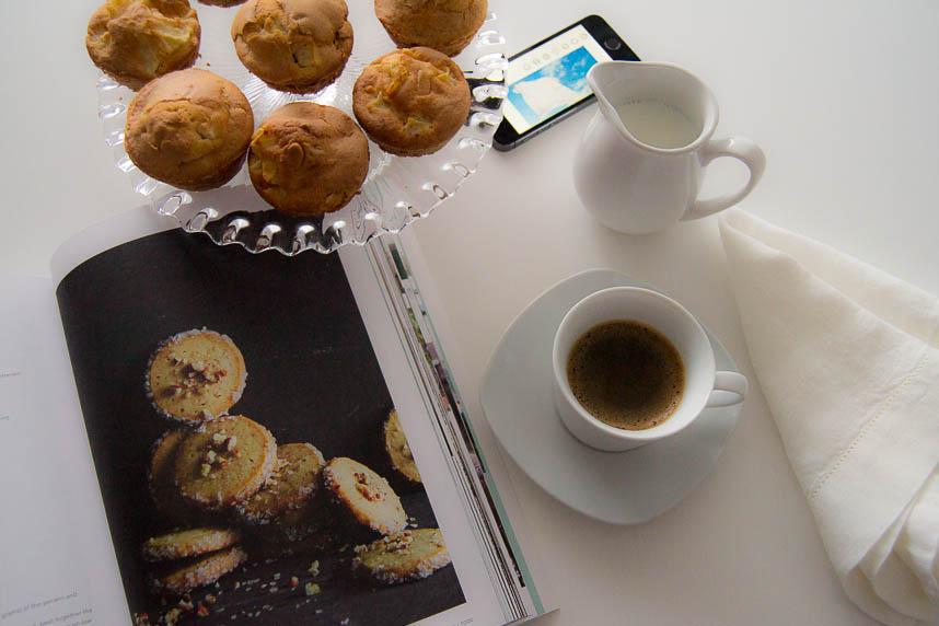 Muffins de Manzana con Canela y Almendra