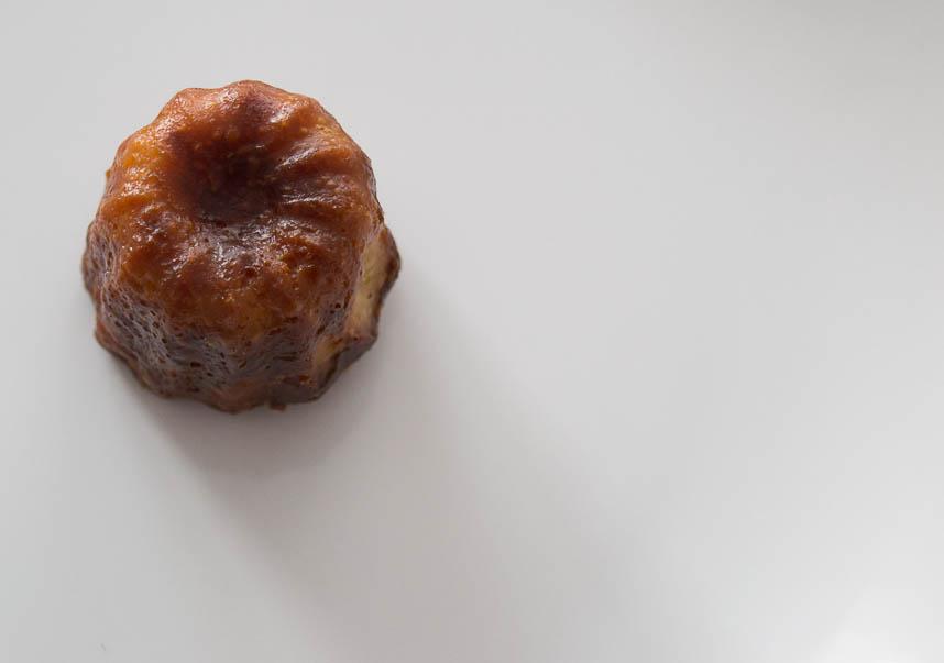 El canelé de Le Petit Gourmet