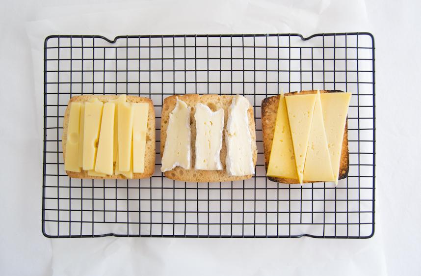 Buscando el sandwich de queso perfecto