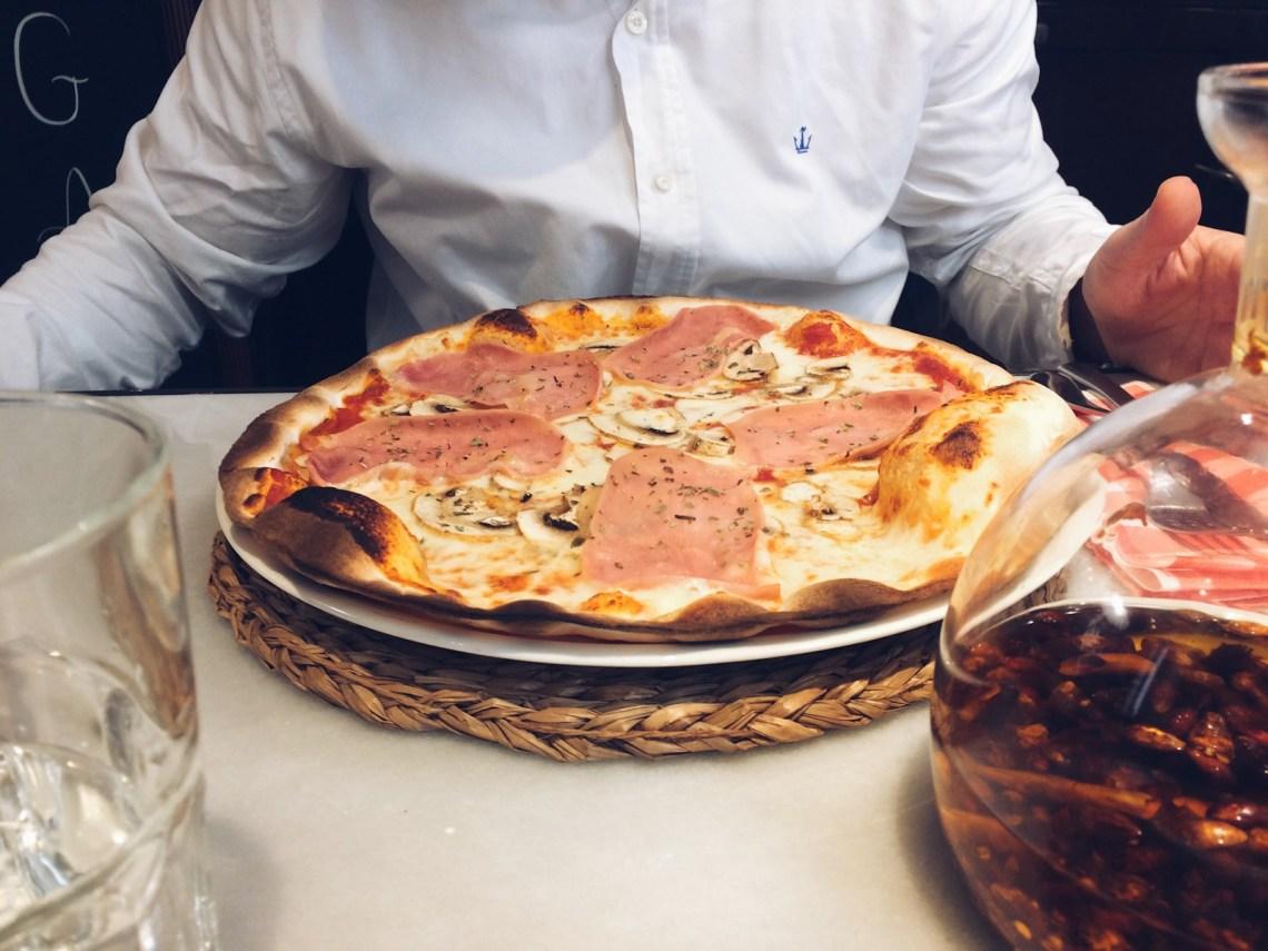 La pizza sin gluten de San Tomassino mrandmslemon.com #pizzasingluten #santomassino