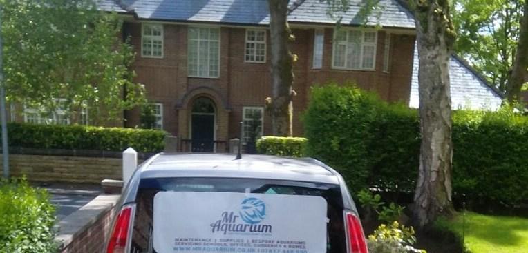 Mr Aquarium's Car
