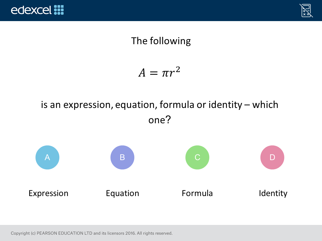Quadratic Equation Questions Gcse Edexcel