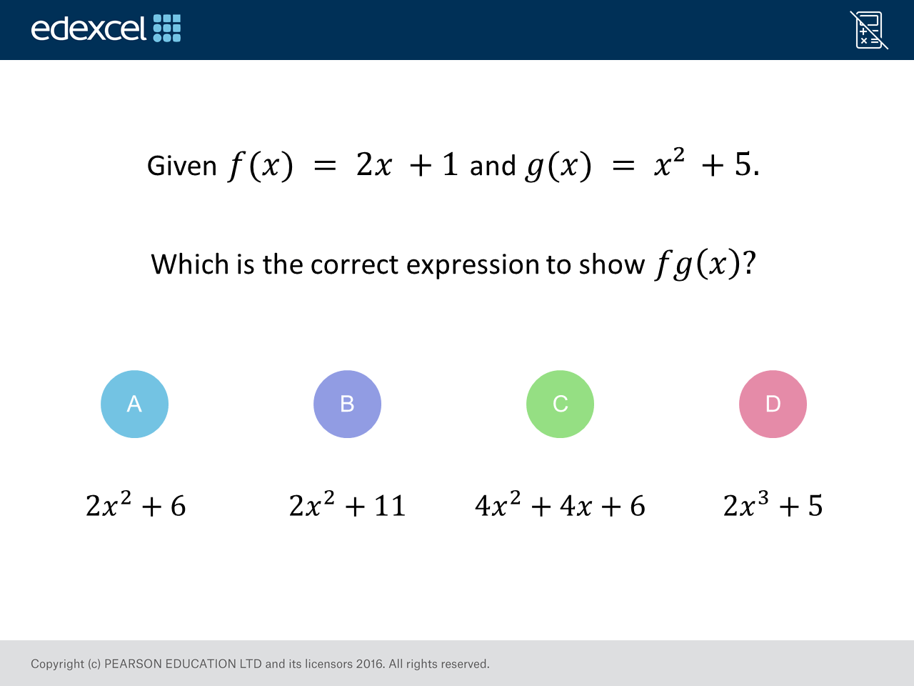 Composite Functions Gcse Maths Question Of The Week