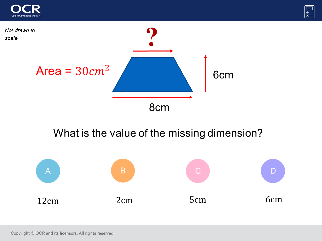Area Of A T Zium Foundation Higher Gcse Maths Question Of The Week On Mr Barton Maths
