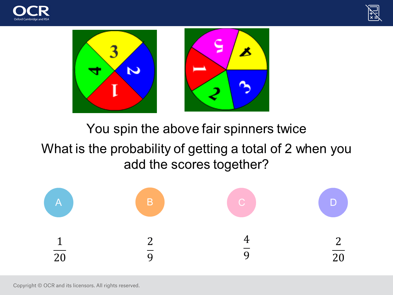 Probability Of Combined Events Higher Gcse Maths Question Of The Week On Mr Barton Maths