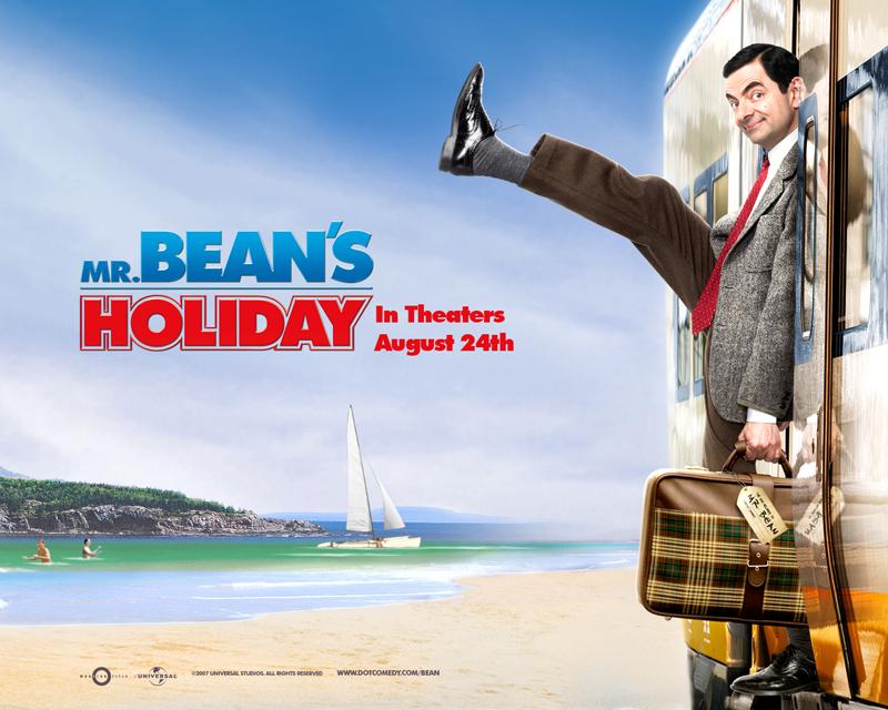Mr Bean wallpaper - Stepping Off The Train