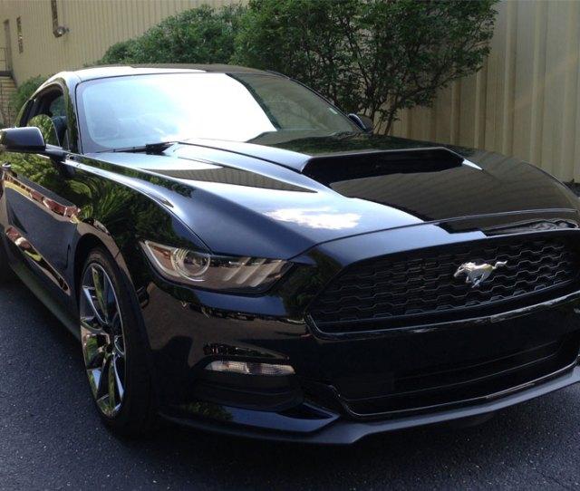 Mustang Concept I Hood Scoop Fits V Gt Eco Larger Image