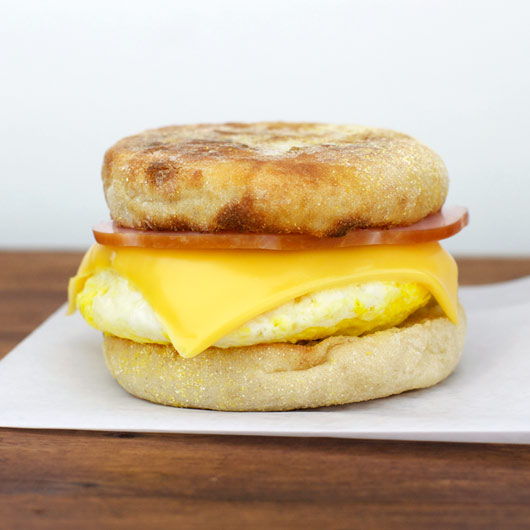 microwave egg a muffin