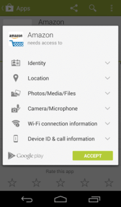 Always check the app permissions before installing the app