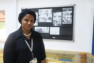 Isatou Manneh, Trainee Librarian
