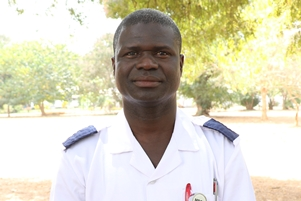 Mamina Bojang shaping the clinic with his wealth of experience in both nursing and clinical research