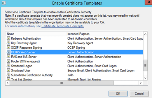 Create a certificate template from a server 2012 r2 ca mrchiyo this now makes the newly created template available for use yelopaper Gallery