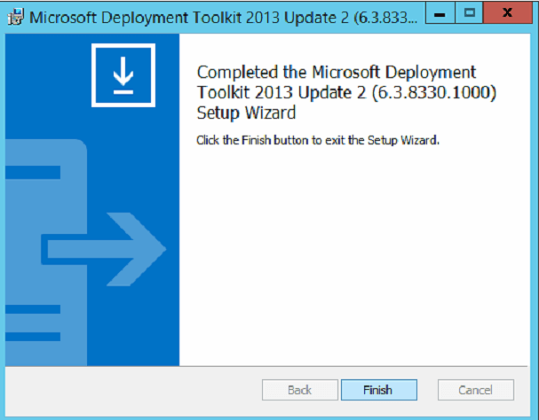 mdt 2013 update 2 windows 10 1803