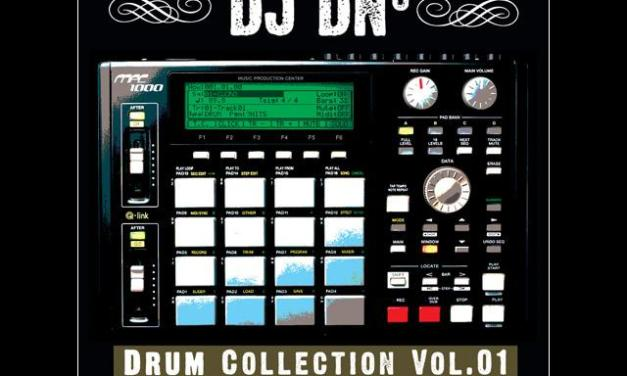 "DJ DN3 ""Drum Collection Vol.01″ Exclusive Release by Big Noise MPC ~ Hip-hop Drums"