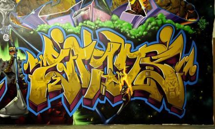 EAST 3 Mural Writer & Aerosol Artist (B-Boy) Extraordinaire