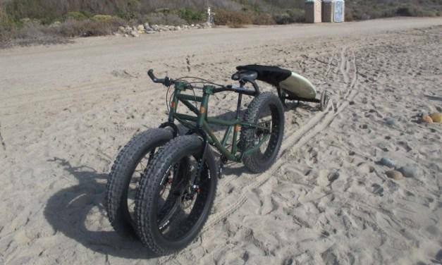 Rungu fat-trike puts a lot o' rubber on loose terrain