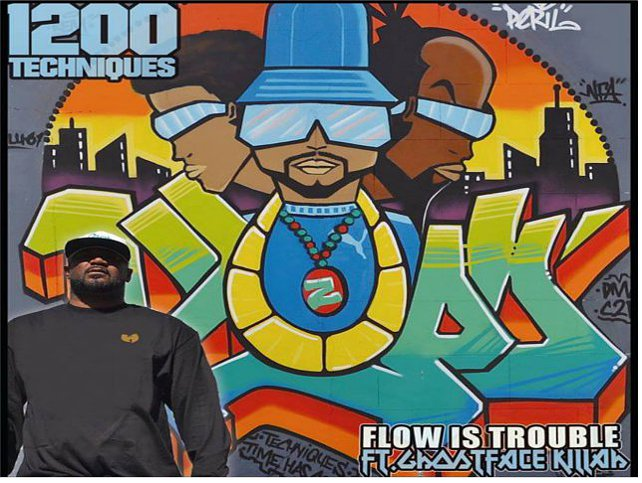"1200 Techniques ""Flow is Trouble"" Ft. Ghostface Killah (Audio)"