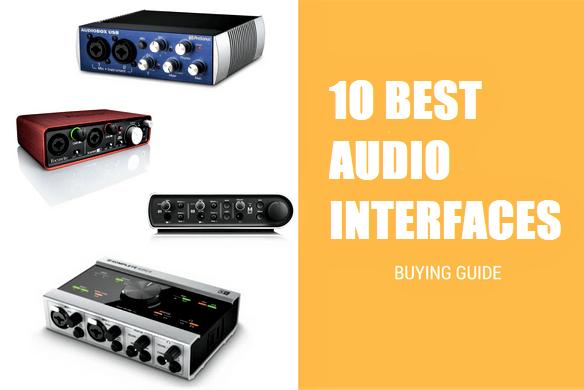 10 Best Audio Interfaces