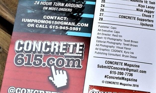 Q&A: Nashville's Concrete Magazine Editor In Chief Interview