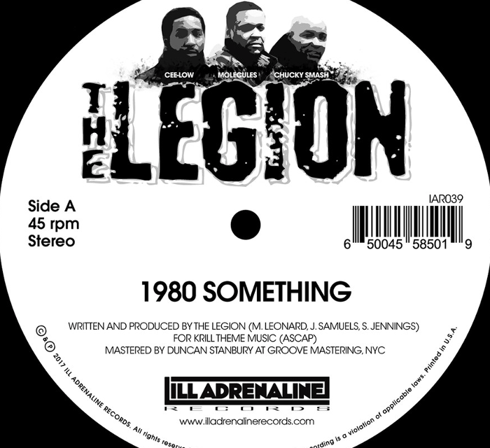 "The Legion ""1980 Something"" (Listen)"