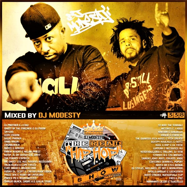 DJ Modesty – THE REAL HIP HOP SHOW N°338