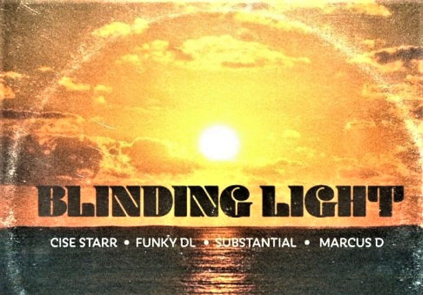 "New Music: Marcus D – ""BLINDING LIGHT"" Featuring SUBSTANTIAL, FUNKY DL & CISE STARR (OF CYNE)"