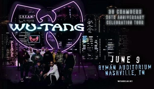 Wu-Tang Clan Plays Nashville's Ryman Auditorium