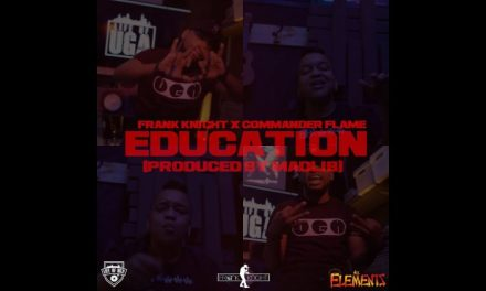 "Frank Knight – ""Education"" Featuring Commander Flame Video (Prod. By Madlib)"