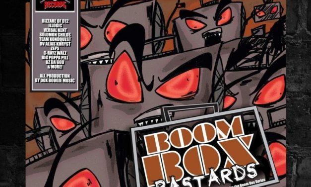 """Dox Boogie """"Boom Box Bastards"""" (Album)"""