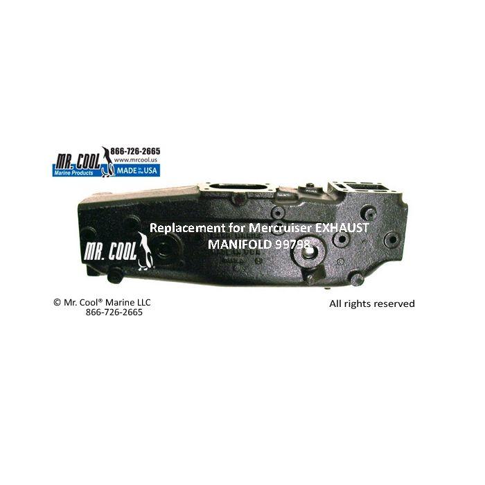 99798 mercruiser exhaust manifold