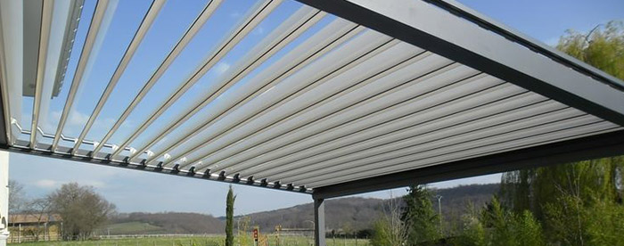 motorized louvered patio cover systems