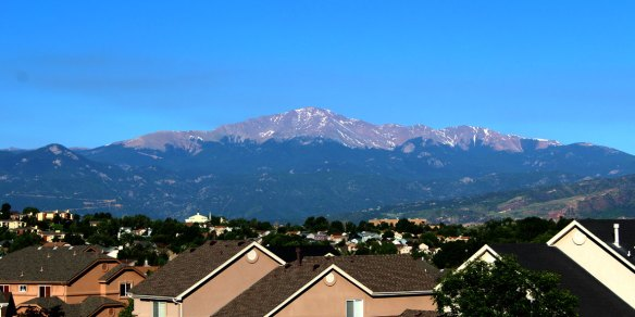 Our View of Pikes Peak