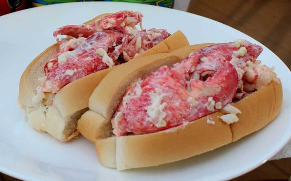 Pricier meal, Lobster Rolls $10