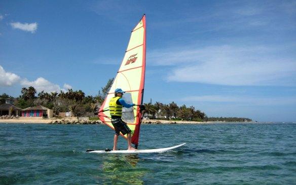 Windsurfing Hyatt Zilara Montego Bay Jamaica