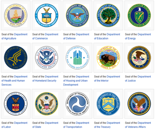 list of us cabinet departments | Everdayentropy.com