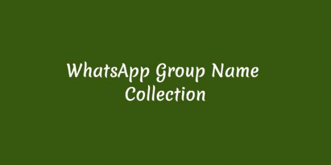BEST COOL WHATSAPP GROUP NAMES 2019 IN TAMIL