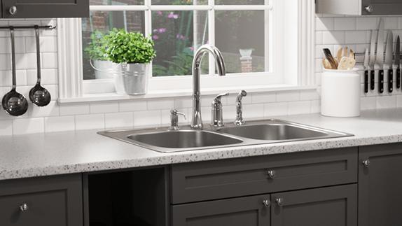 topmount stainless steel sinks