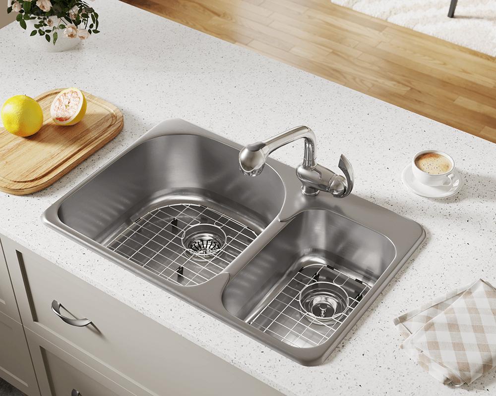 t3121l topmount offset kitchen sink