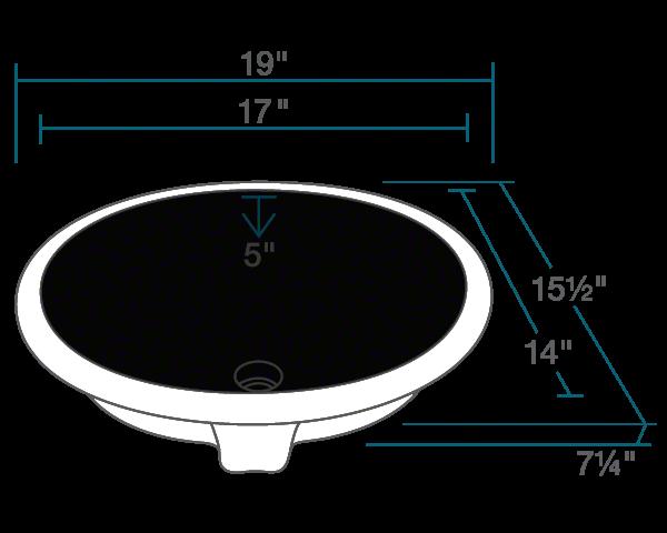upm black porcelain bathroom sink