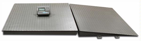 60 X 60 Pallet Scale Amp Ramp 10 000 Lb Mr Dock Plate